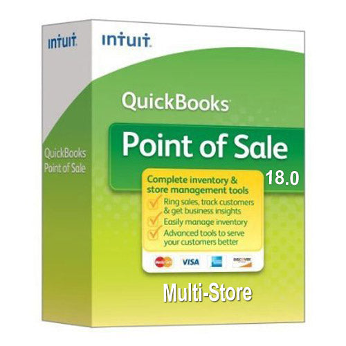 QuickBooks Point of Sale v18 Multi-Store New User