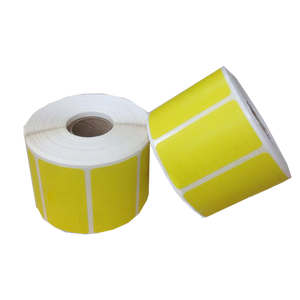 Yellow Thermal Labels by the Roll