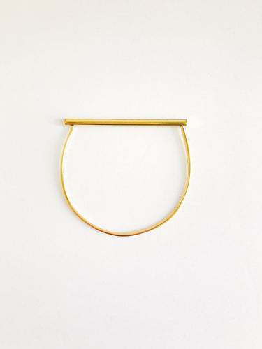 brass bar bangle