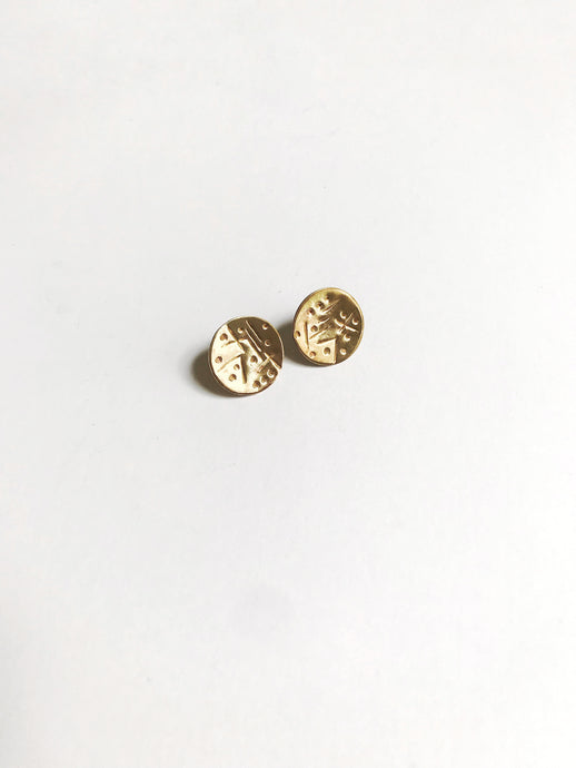 mud cloth studs