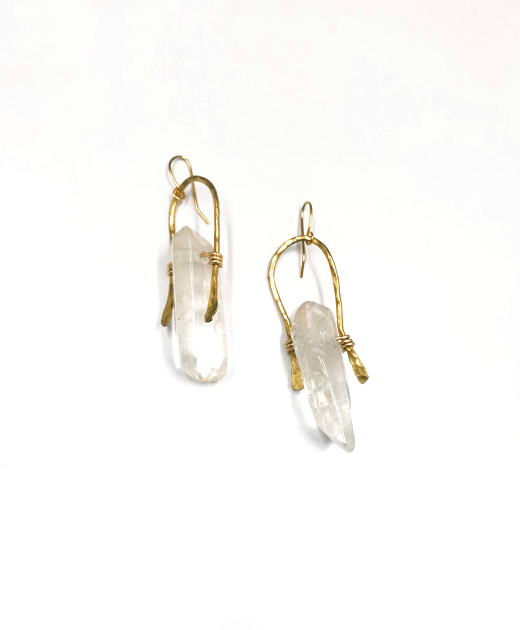 clear crystal quartz stone swingers