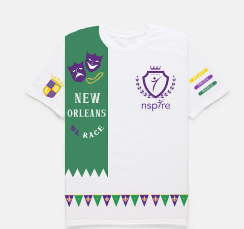 5K Run New Orleans T-Shirt