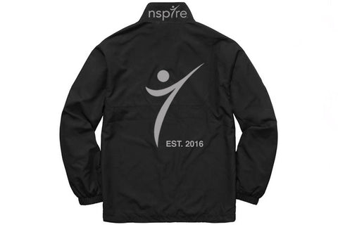 Nspire Black Windbreakers