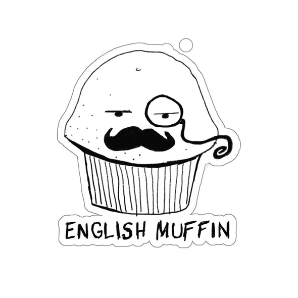 English Muffin Sticker