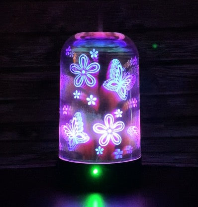Butterfly 3D Ultrasonic Diffuser Bundle