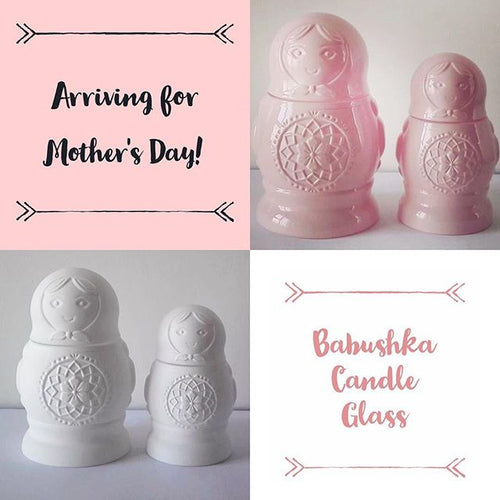 Babushka Doll Pair | Soy Candles | Scentsations by Tash