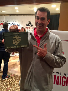 Combat Humidor with Rob Riggle and Semper Fi Fund
