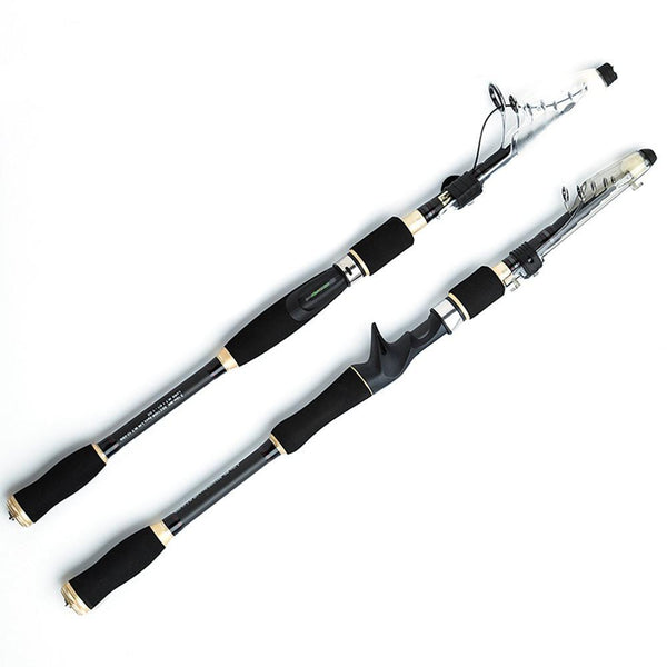 Telescopic Carbon Fiber Travel Fishing Rod