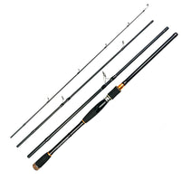 4 Section Carbon Spinning Fishing Rod