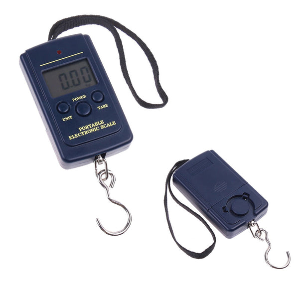 .5oz-88lbs Pocket Digital Electronic Hanging Hook Scale