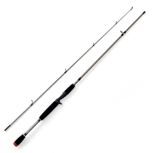 2 Segment Carbon Fiber Spinning Casting Lure Fishing Rod by GLS