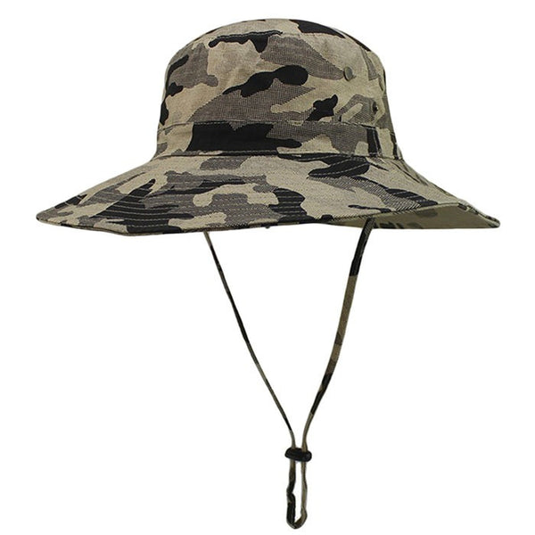 Camouflage Canvas Fishing Cap