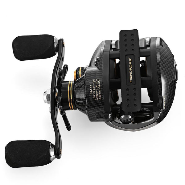 LB200 17+1 BB One Way Clutch Baitcasting Fishing Reel