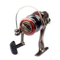 Aluminum 7BB Ball Bearing Collapsible Fishing Spinning Reel by MUQGEW