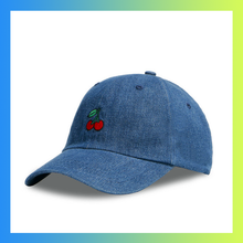 Embroidered cherry dad hat