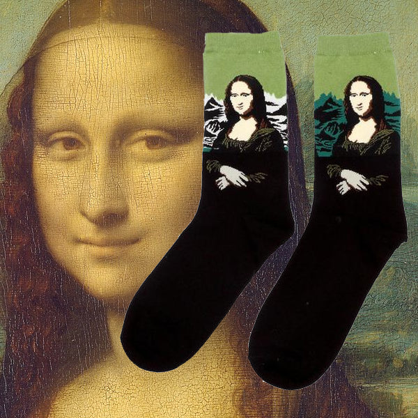 Art history mona lisa socks tumblr