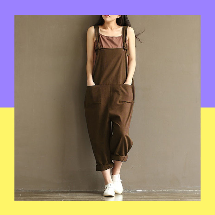 KOREAN STYLE OVERALLS (8 colors)