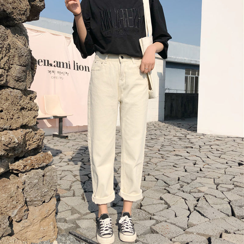 Ankle Length Khaki Trousers