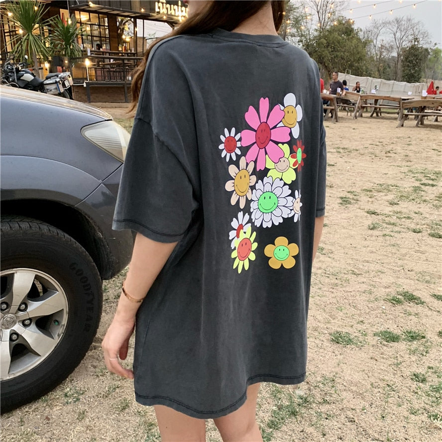 Flower Power Washed Out Shirt