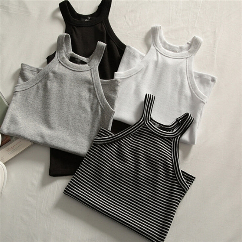 Basic Round Neck Tank Top