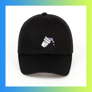 Sizzurp lean purple drank dad hat