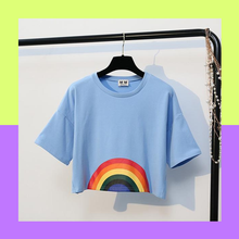 RAINBOW CROP TOP (4 colors)