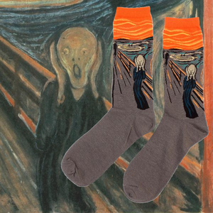 Edvard Munch The Scream Art History Socks