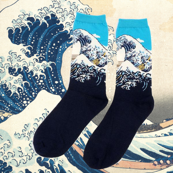 JAPANESE TSUNAMI SOCKS