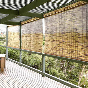 Custom Made Exterior Bamboo Blinds