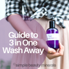Guide To 3-in-One Wash Away Cleanser