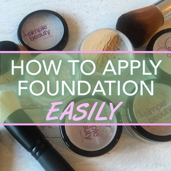 jars of foundation and makeup brushes