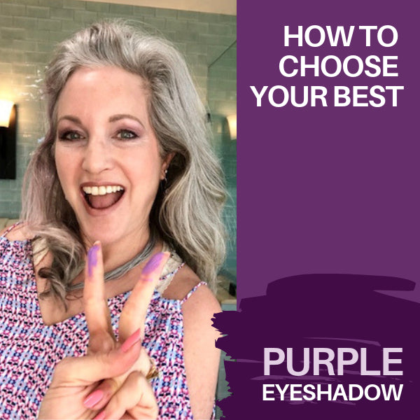 How To Choose YOUR Best Purple Eyeshadow (With Video)