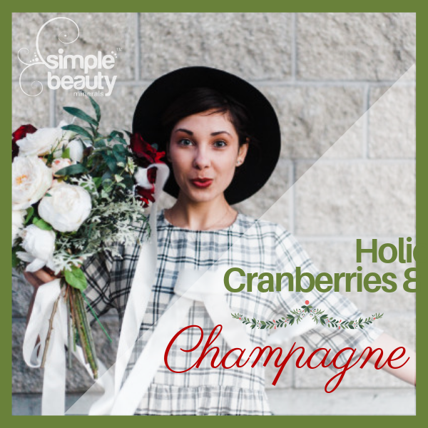 Holiday Cranberries and Champagne