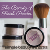 the beauty of finish powder simplebeautyminerals.com
