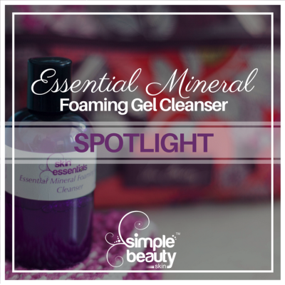 Essential Mineral Foaming Gel Cleanser - Spotlight