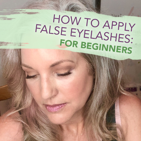 false eyelash tutorial beginners