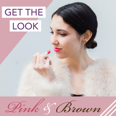 get the look pink and brown makeup - simplebeautyminerals.com