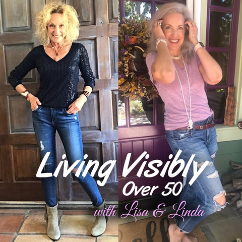 living visibly over 50 with lisa and linda