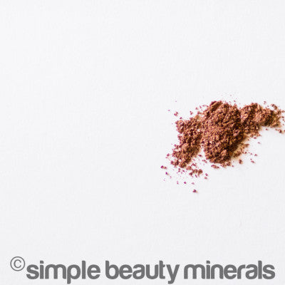 DIY Non-Toxic Nails | Simple Beauty Minerals eyeshadow or pigment color