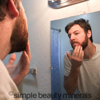 Simple Men's skincare - beard care routine | Simple Beauty Minerals