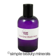 3-IN-ONE WASH AWAY | simplebeautyminerals.com