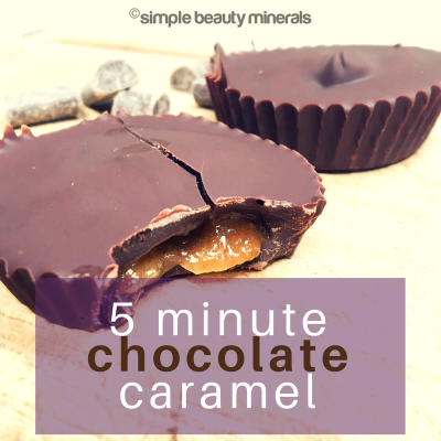 5 Minute Chocolate Caramel Cups