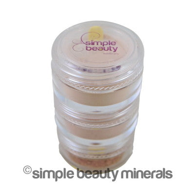 Limited Edition Holiday Gingerbread Multi-Purpose Mineral Stacker | Simple Beauty Minerals