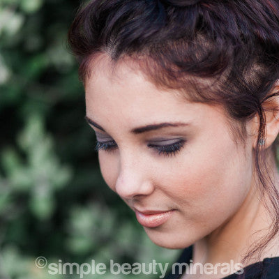 Simple Beauty Minerals - Mineral Powder Eyeliner - Alternative to Traditional Eyeliner