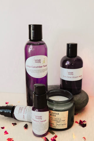 morning skin care routine simple beauty minerals