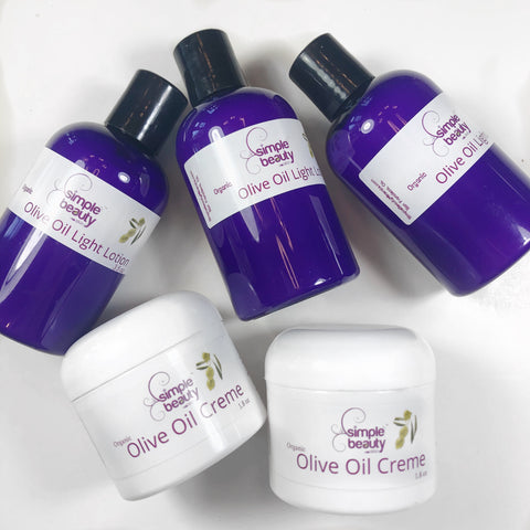 olive oil lotion and creme - simplebeautyminerals.com