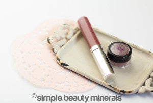 Deep Earth Brow Powder with Soft Touch Mineral Eyeshadow | Simple Beauty Minerals