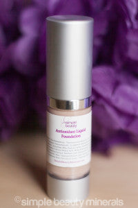 Antioxidant Liquid Foundation | Simple Beauty Minerals