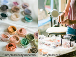 Behind The Scenes - Beauty Photo Shoot | Simple Beauty Minerals