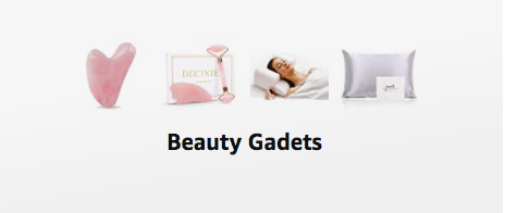 shop recommended beauty devices and gadgets - various beauty products